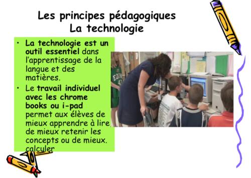 L Apprentissage D Une Langue En Contexte Dans Une Ecole D